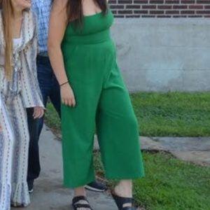 Green jumpsuit!!